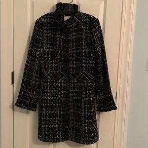 Beautiful Black tweed coat